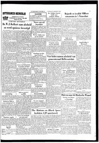 Rotterdamsch Nieuwsblad / Schiedamsche Courant / Rotterdams Dagblad / Waterweg / Algemeen Dagblad 1966-08-30