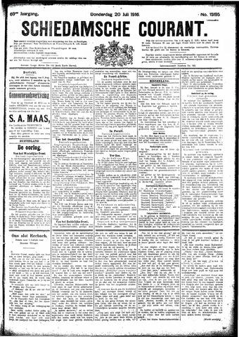 Schiedamsche Courant 1916-07-20