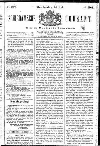 Schiedamsche Courant 1877-05-24