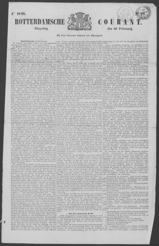 Rotterdamse Courant 1848-02-29