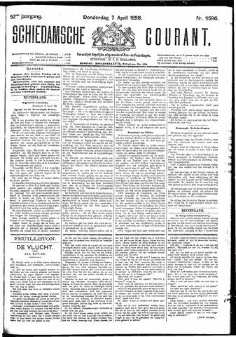 Schiedamsche Courant 1898-04-07