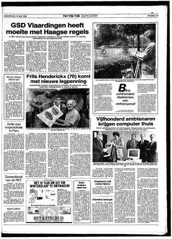 Het Vrije volk 1988-05-18