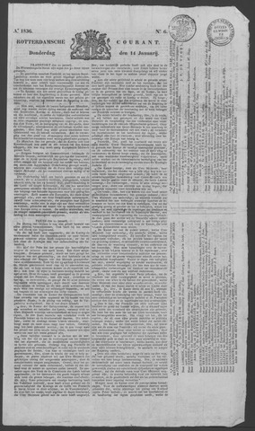 Rotterdamse Courant 1836-01-14