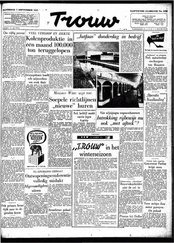 Trouw / De Rotterdammer 1957-09-07
