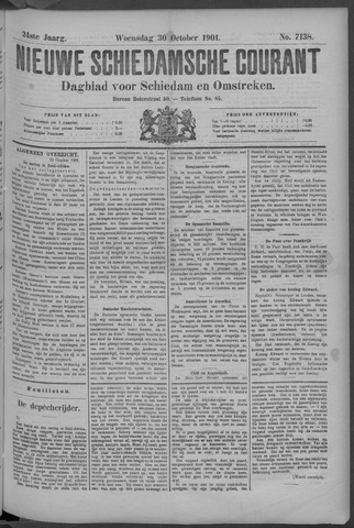 Nieuwe Schiedamsche Courant 1901-10-30