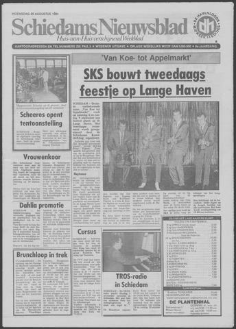 Schiedams Nieuwsblad 1984-08-29
