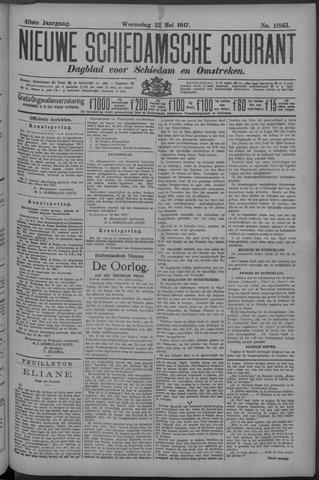 Nieuwe Schiedamsche Courant 1917-05-23