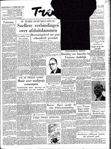 Trouw / De Rotterdammer 1955-02-03
