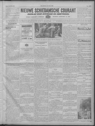 Nieuwe Schiedamsche Courant 1932-07-25