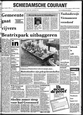 Rotterdamsch Nieuwsblad / Schiedamsche Courant / Rotterdams Dagblad / Waterweg / Algemeen Dagblad 1980-08-08