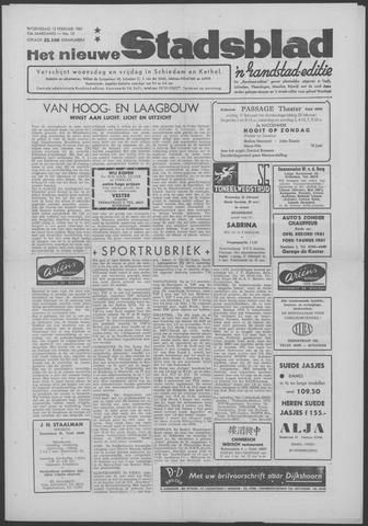 Het Nieuwe Stadsblad 1961-02-15