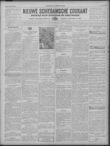 Nieuwe Schiedamsche Courant 1933-02-22