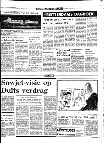 Rotterdamsch Parool / De Schiedammer 1970-08-19
