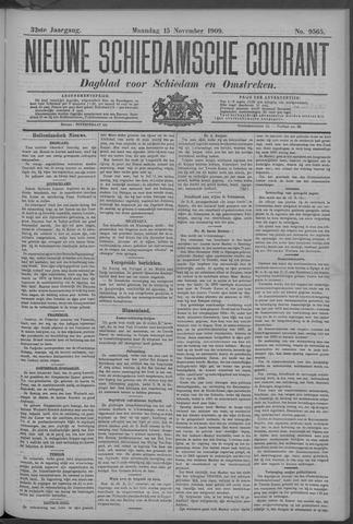Nieuwe Schiedamsche Courant 1909-11-15
