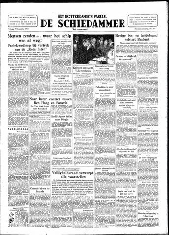 Rotterdamsch Parool / De Schiedammer 1947-08-29