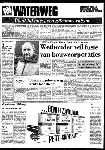Rotterdamsch Nieuwsblad / Schiedamsche Courant / Rotterdams Dagblad / Waterweg / Algemeen Dagblad 1983-12-07