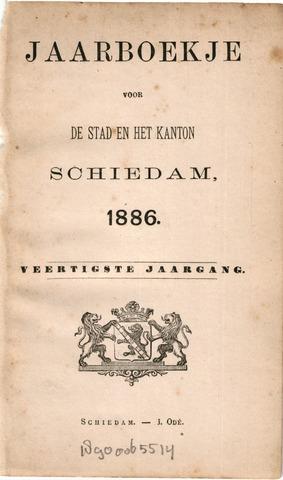 Schiedams Jaarboek 1886-01-01