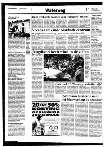 Rotterdamsch Nieuwsblad / Schiedamsche Courant / Rotterdams Dagblad / Waterweg / Algemeen Dagblad 1993-07-13