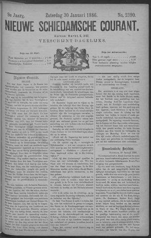 Nieuwe Schiedamsche Courant 1886-01-30