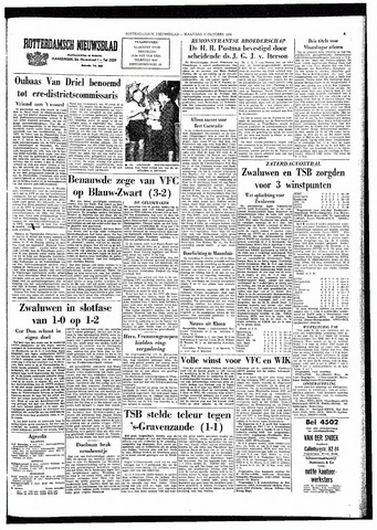 Rotterdamsch Nieuwsblad / Schiedamsche Courant / Rotterdams Dagblad / Waterweg / Algemeen Dagblad 1964-10-12