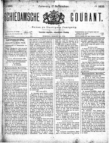 Schiedamsche Courant 1883-11-17