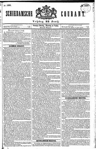 Schiedamsche Courant 1866-06-22