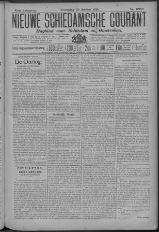 Nieuwe Schiedamsche Courant 1918-10-30