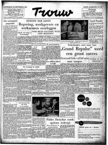 Trouw / De Rotterdammer 1953-09-24