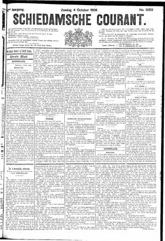 Schiedamsche Courant 1908-10-04