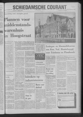 Rotterdamsch Nieuwsblad / Schiedamsche Courant / Rotterdams Dagblad / Waterweg / Algemeen Dagblad 1970-09-22