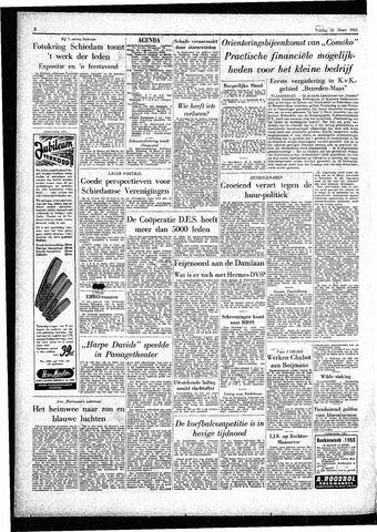 Rotterdamsch Parool / De Schiedammer 1955-03-25