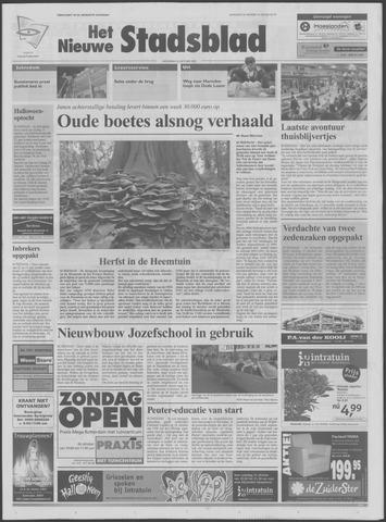 Het Nieuwe Stadsblad 2003-10-22