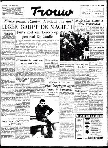 Trouw / De Rotterdammer 1958-05-14