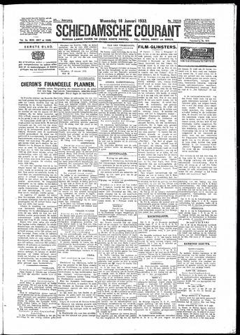 Schiedamsche Courant 1933-01-18