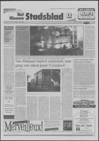 Het Nieuwe Stadsblad 2000-09-27