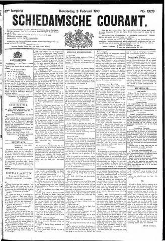 Schiedamsche Courant 1910-02-03