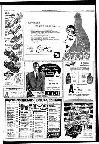 Rotterdamsch Nieuwsblad / Schiedamsche Courant / Rotterdams Dagblad / Waterweg / Algemeen Dagblad 1953-02-27