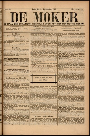 De Moker 1910-12-24