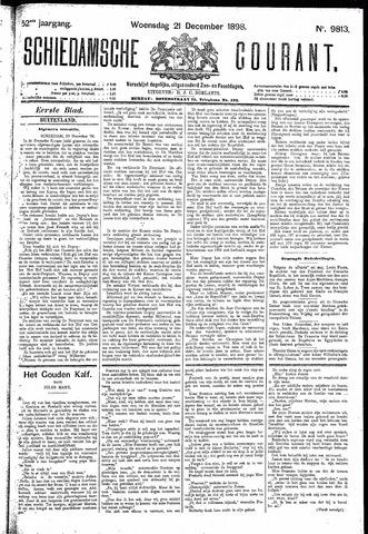 Schiedamsche Courant 1898-12-21