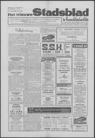 Het Nieuwe Stadsblad 1961-12-06