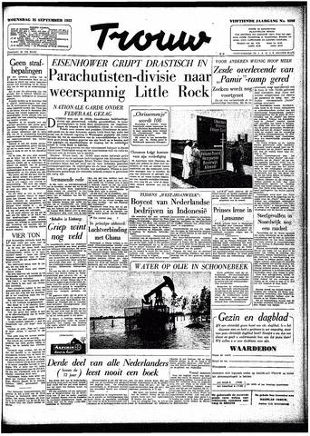 Trouw / De Rotterdammer 1957-09-25