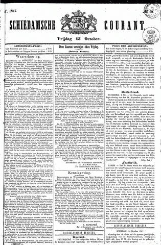 Schiedamsche Courant 1847-10-15