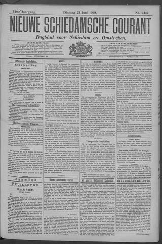 Nieuwe Schiedamsche Courant 1909-06-22