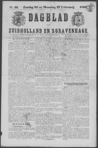 Dagblad van Zuid-Holland 1860-02-26