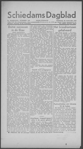 Schiedamsch Dagblad 1945-01-26