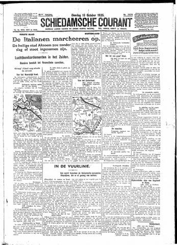 Schiedamsche Courant 1935-10-15