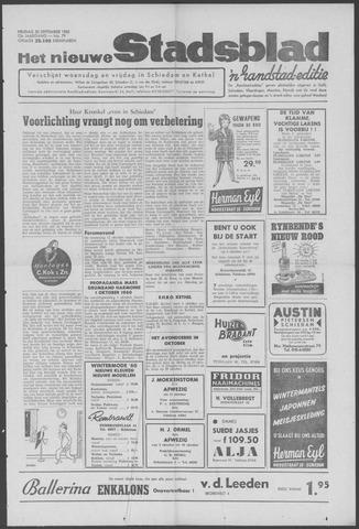 Het Nieuwe Stadsblad 1960-09-30