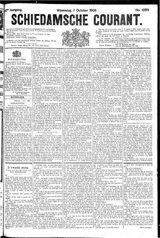 Schiedamsche Courant 1908-10-07