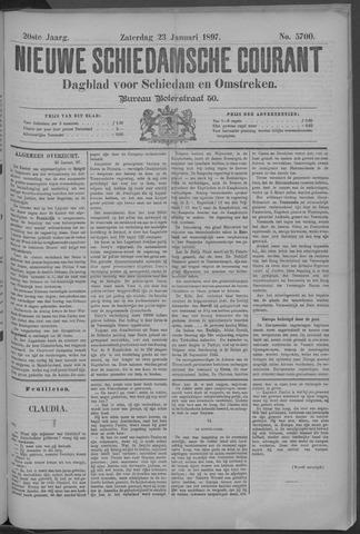 Nieuwe Schiedamsche Courant 1897-01-23
