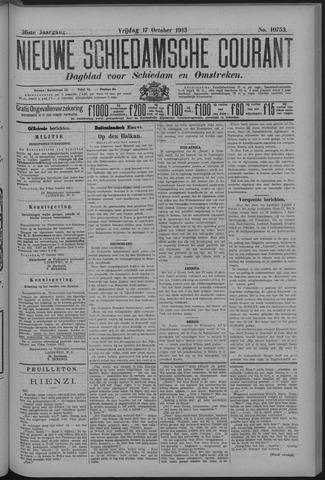 Nieuwe Schiedamsche Courant 1913-10-17